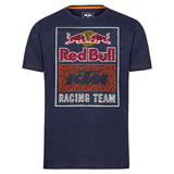 KTM Red Bull Racing Team Graphic T-Shirt Navy