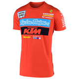 KTM TLD Team T-Shirt Orange