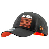 KTM Pure Snapback Hat Black