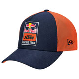 KTM Red Bull Racing Team Mesh Curve Snapback Hat Orange/Navy