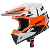 KTM Moto-9 Flex Helmet Orange