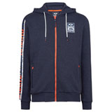 KTM Red Bull Racing Team Letra Zip-Up Hooded Sweatshirt Navy