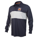 KTM Red Bull Racing Team Performance Long Sleeve Polo Shirt