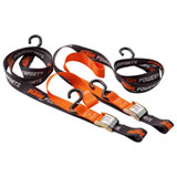 KTM Soft Loop Buckle Tie Downs Black/Orange