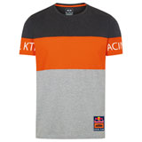KTM Red Bull Racing Team Block T-Shirt Grey/Orange
