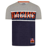 KTM Red Bull Racing Team Letter T-Shirt Navy/Grey