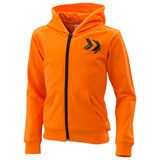 KTM Youth Radical Zip-Up Hooded Sweatshirt 2020 Orange
