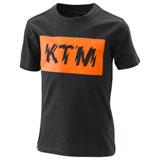 KTM Youth Radical Logo T-Shirt Black