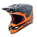 KTM Supertech M10 Carbon Helmet Blue/Orange
