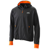 KTM Emphasis Zip-Up Hooded Sweatshirt Black