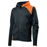KTM Unbound Zip-Up Hooded Sweatshirt Black/Orange