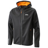 KTM Emphasis Zip-Up Hooded Jacket Black