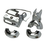 Kuryakyn Chrome Brake & Clutch Control Dress-Up Kit for Dual Disc
