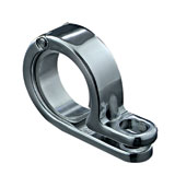 "Kuryakyn 1-3/8""-1-1/2"" P-Clamp Chrome"