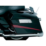 Kuryakyn Grooved Motorcycle Saddlebag Latch Accents