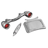 Kuryakyn Deluxe Bullet Light Rear Turn Signal Kit