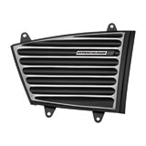 Kuryakyn Hypercharger ES Classic Cover Black/Chrome