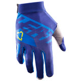 Leatt GPX 2.5 X-Flow Gloves 2017 Blue/Lime