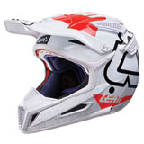 Leatt GPX 5.5 V15 Helmet White/Red