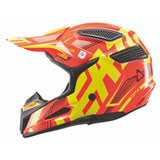 Leatt Youth GPX 5.5 V.06 Helmet Orange/Yellow