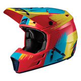 Leatt Youth GPX 3.5 Helmet Red/Lime