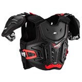 Leatt 4.5 Junior Pro Roost Deflector Black/Red