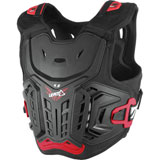 Leatt 4.5 Junior Roost Deflector Black/Red