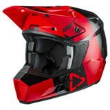 Leatt Moto 3.5 Helmet Red