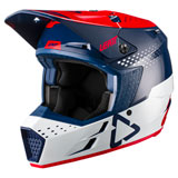 Leatt Moto 3.5 Helmet Red/Blue