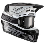 Leatt Moto 8.5 Helmet with Velocity 5.5 Goggle Black/White