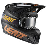 Leatt Moto 9.5 Carbon Helmet with Velocity 6.5 Goggle Carbon