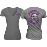 Lethal Threat® Women's Girl Skull T-Shirt