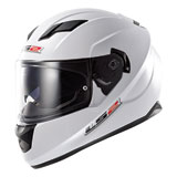 LS2 Stream Motorcycle Helmet White