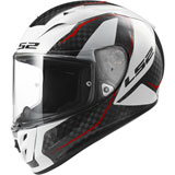 LS2 Arrow Carbon Motorcycle Helmet