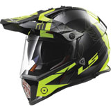 LS2 Pioneer Adventure Motorcycle Helmet