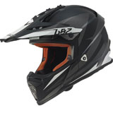 LS2 Youth Fast Mini Helmet Race Grey