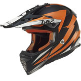 LS2 Youth Fast Mini Helmet Race Orange