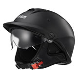 LS2 Rebellion Helmet Matte Black