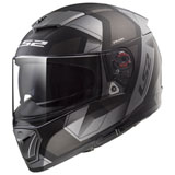 LS2 Breaker Physics Helmet Matte Black/Silver