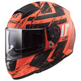 LS2 Citation Hunter Helmet Matte Orange
