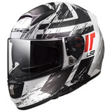 LS2 Citation Hunter Helmet White/Black