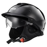 LS2 Rebellion Helmet Black Chrome