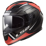 LS2 Stream Axis Helmet Black/Red