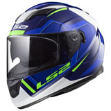 LS2 Stream Axis Helmet Blue