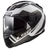 LS2 Stream Axis Helmet White/Grey