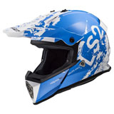 LS2 Youth Fast V2 Mini MX437J Helmet Spot Blue