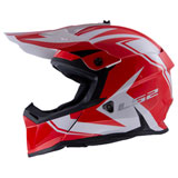 LS2 Fast V2 MX437 Helmet Twoface Red/White