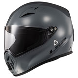 LS2 Street Fighter Helmet Battleship Grey