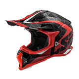 LS2 Subverter Straight Helmet Red/Black/Hi-Vis