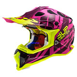 LS2 Subverter Troop Helmet Purple/Hi-Viz